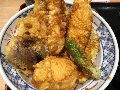 天丼食べに行きました