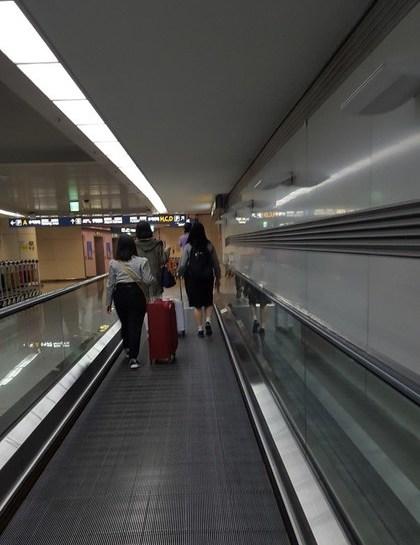 仁川空港到着