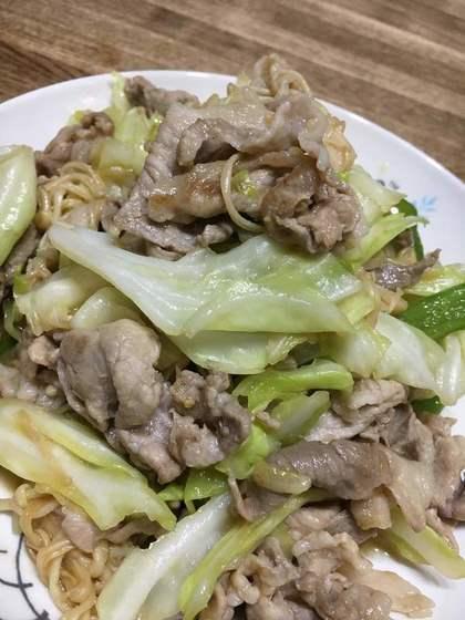豚肉とキャベツの野菜炒め