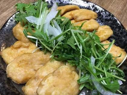 鶏の甘辛ニンニク醤油