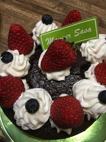 19歳の息子の誕生日ケーキ