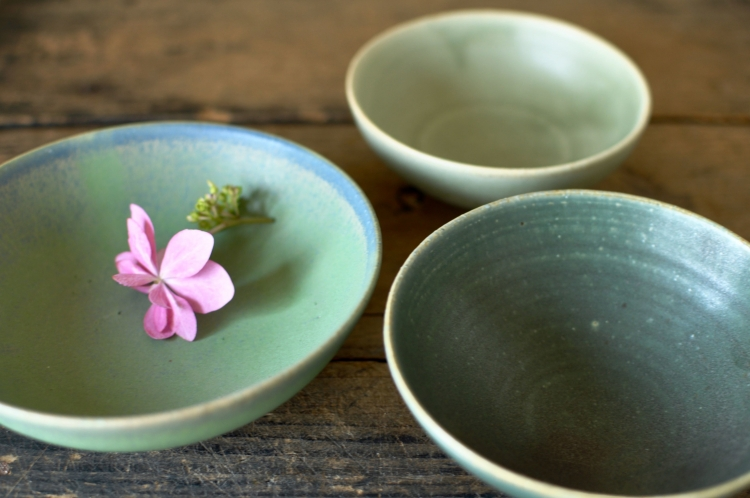 和田麻美子/緑の皿