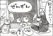 先生と宙さんと、庭の野良猫(?)一家がすきです