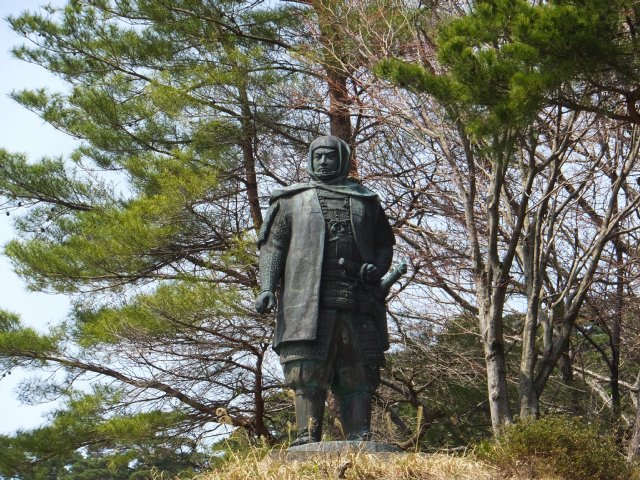 春日山城跡2018.4.1 027