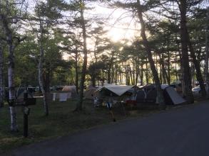 ゴールデンウィークの松原湖高原キャンプ場♪ 毎年来ています。混んでいても、混んでいなくても最高に快適なオートキャンプ場♪