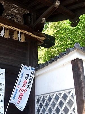 桃山同窓会のぼり1804
