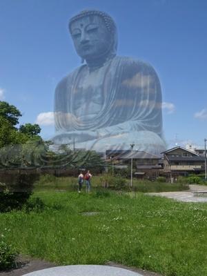 京都・大仏殿跡緑地30コラージュ人物共1805