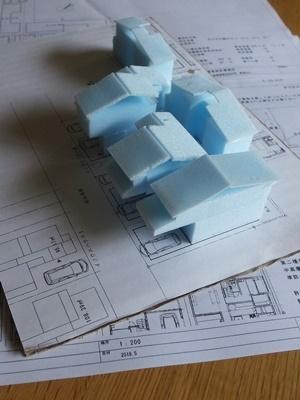 inouehouse3ラフ模型1806