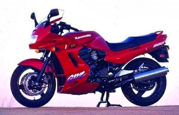 Kawasaki GPZ1100 95 2