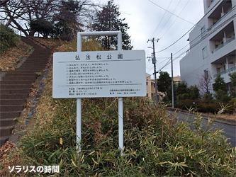 弘法の松公園1