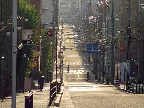 987-124-0東京風景0坂道ベスト写真