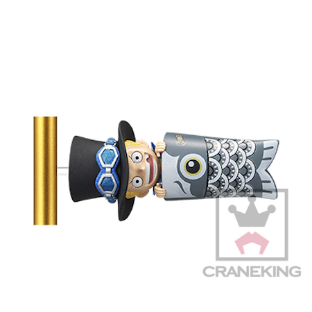 ワンピース ワールドコレクタブルフィギュア 鯉幟 サボ