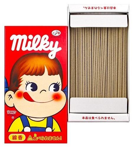 ミルキー線香