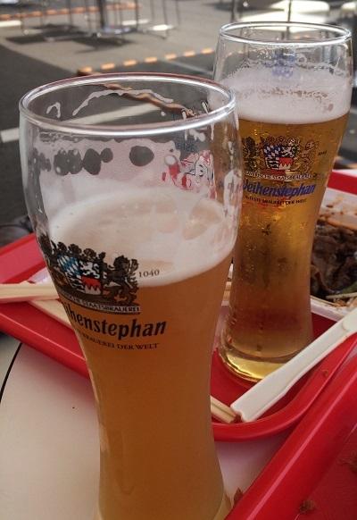土井地ビールとフランスビール