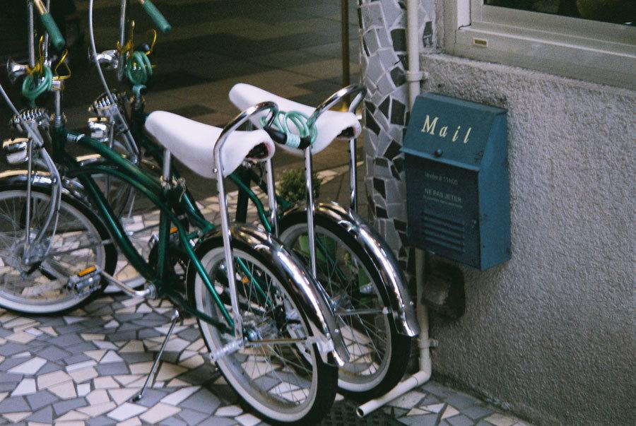 みどりの自転車