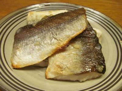 アカカマスの塩麹大蒜焼き1