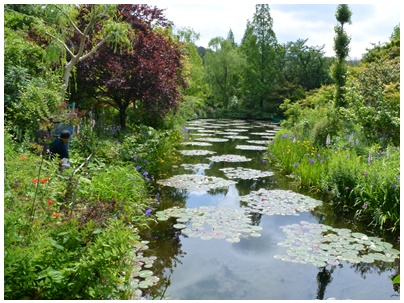 PaPaモネの庭1