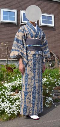 竺仙の着物