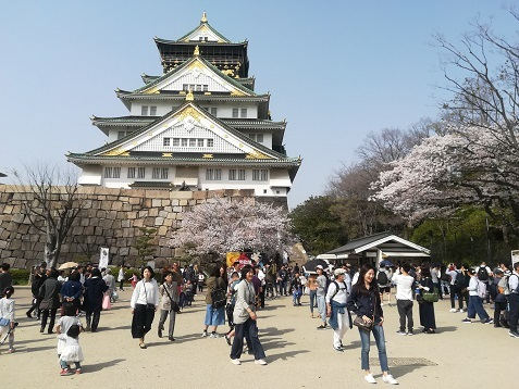 12 大阪城