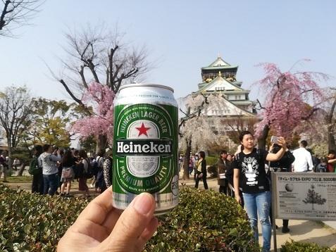13 大阪城