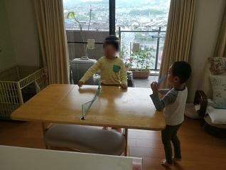 1 おもちゃの卓球