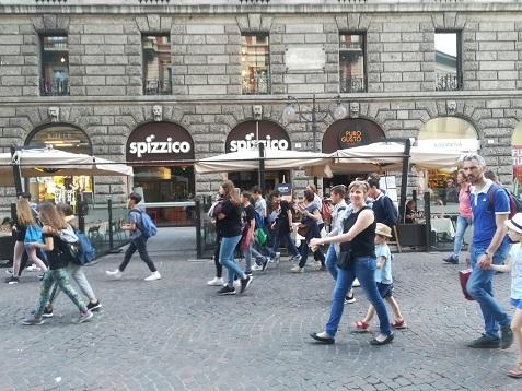 4 ミラノの街角