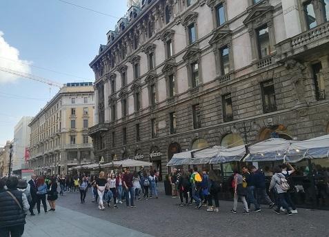 1 お洒落なミラノの街角