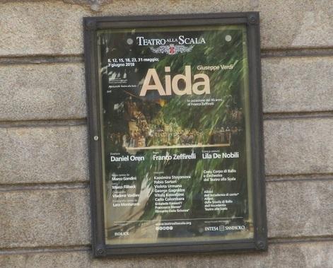 23 オペラ・アイーダのポスター