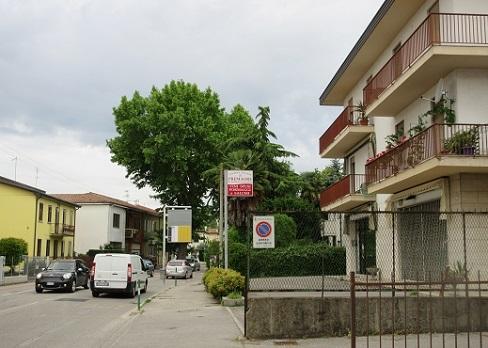 2 パドヴァのホテル周辺の景色