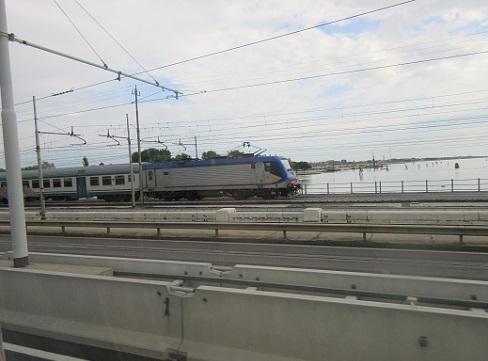 4 ヴェネツィア本島へつながる鉄道