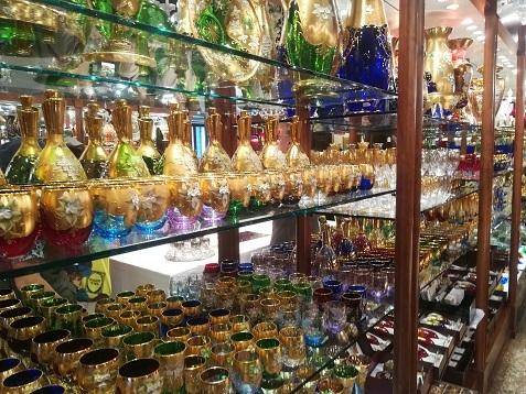 23 ベネチアングラス工房 展示商品