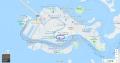 30 ヴェネツィア本島の地図 大