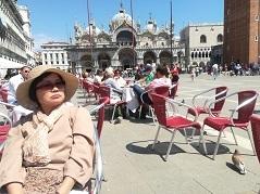 5 ヴェネツィア・サンマルコ広場のオープンカフェ