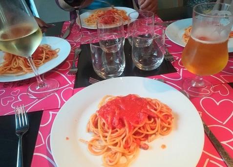 24 フィレンツェのレストラン 夕食