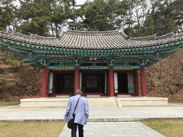 20180329 御神事 韓国 扶蘇山城 敷地内