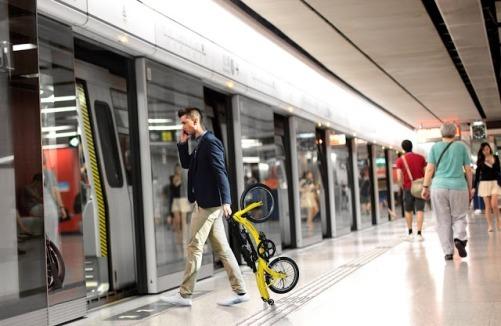 DAHON NuWave boarding metro-min