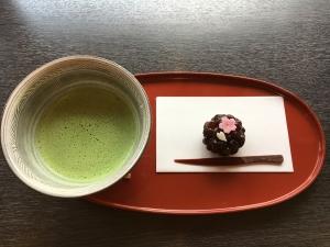 お茶&お菓子1