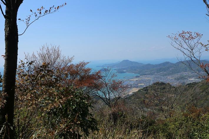 七宝山から仁尾 30 4 8