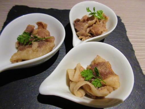 103豚しゃぶの薬味和え(1)