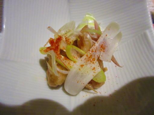 104地鶏の柚子胡椒和え(1)