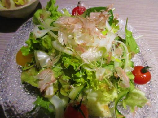 105香味野菜の和風サラダ(1)