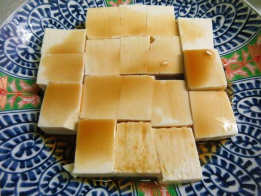 232豆腐にポン酢(1)