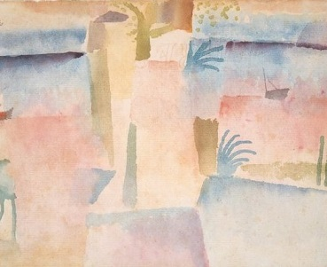 View Towards the Port of Hammamet - Paul Klee