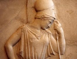アクロポリスの破風の一部アテナ前5世紀あ
