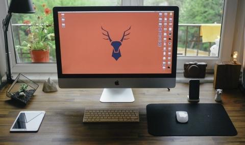 PCデスク iMac