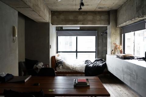 部屋 マンション 寝室
