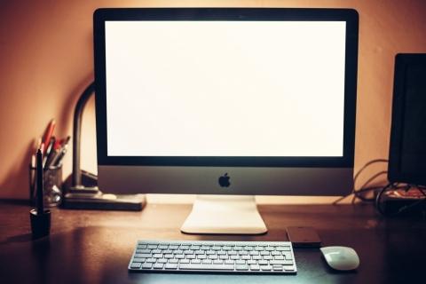 モニタ iMac