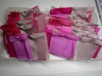 ピンク 段取り中 縫う前の準備