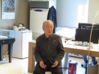 韓国刺繍博物館の許東華館長
