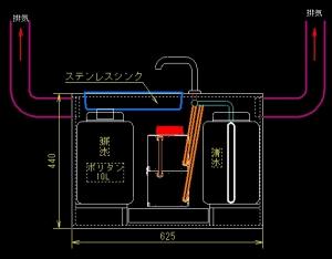 温水シンクシステム10